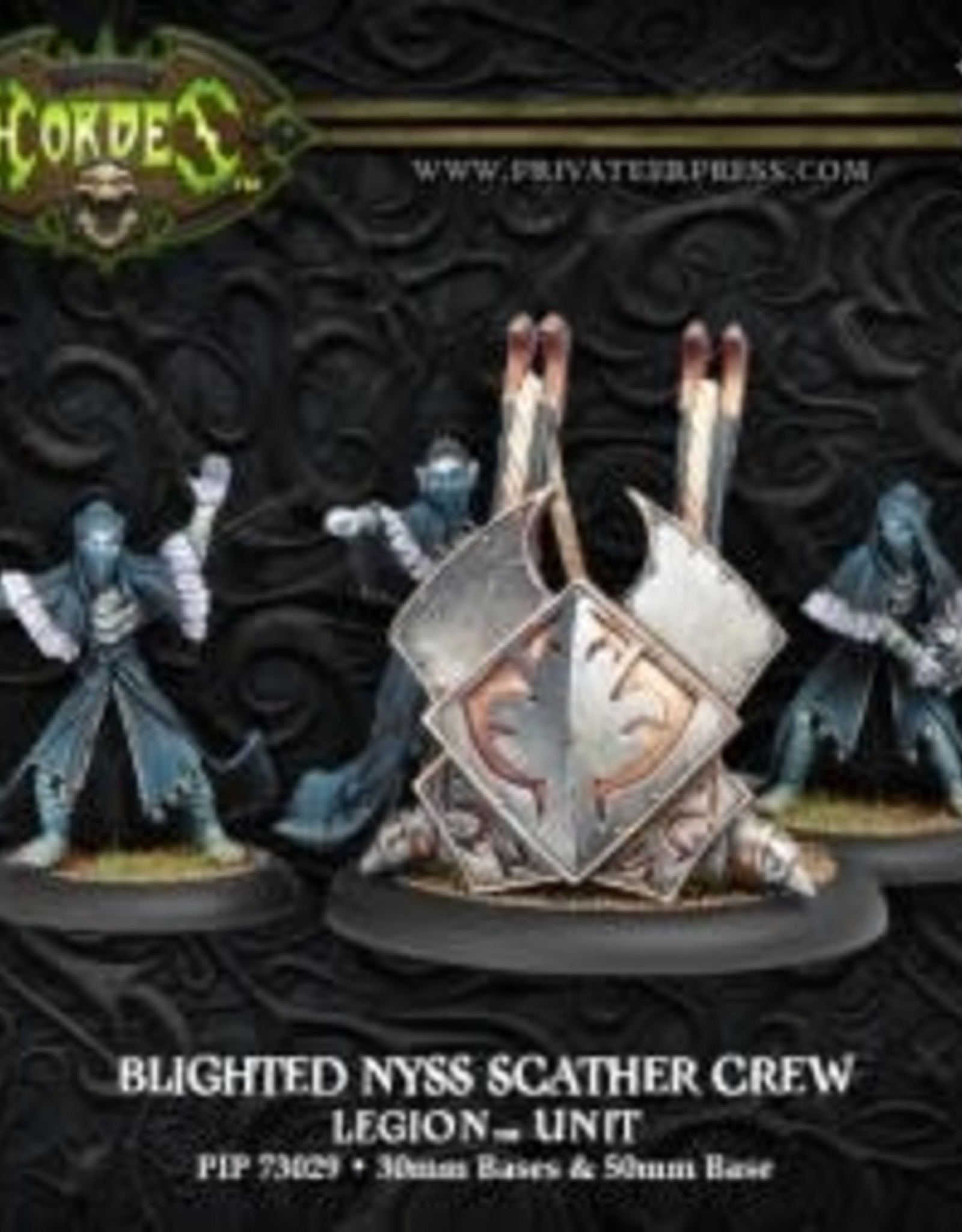 Hordes Everblight - Blighted Nyss Scather Crew