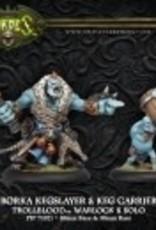Hordes Trollbloods - Borka Kegslayer