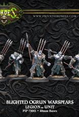 Hordes Everblight - Blighted Ogrun Warspears