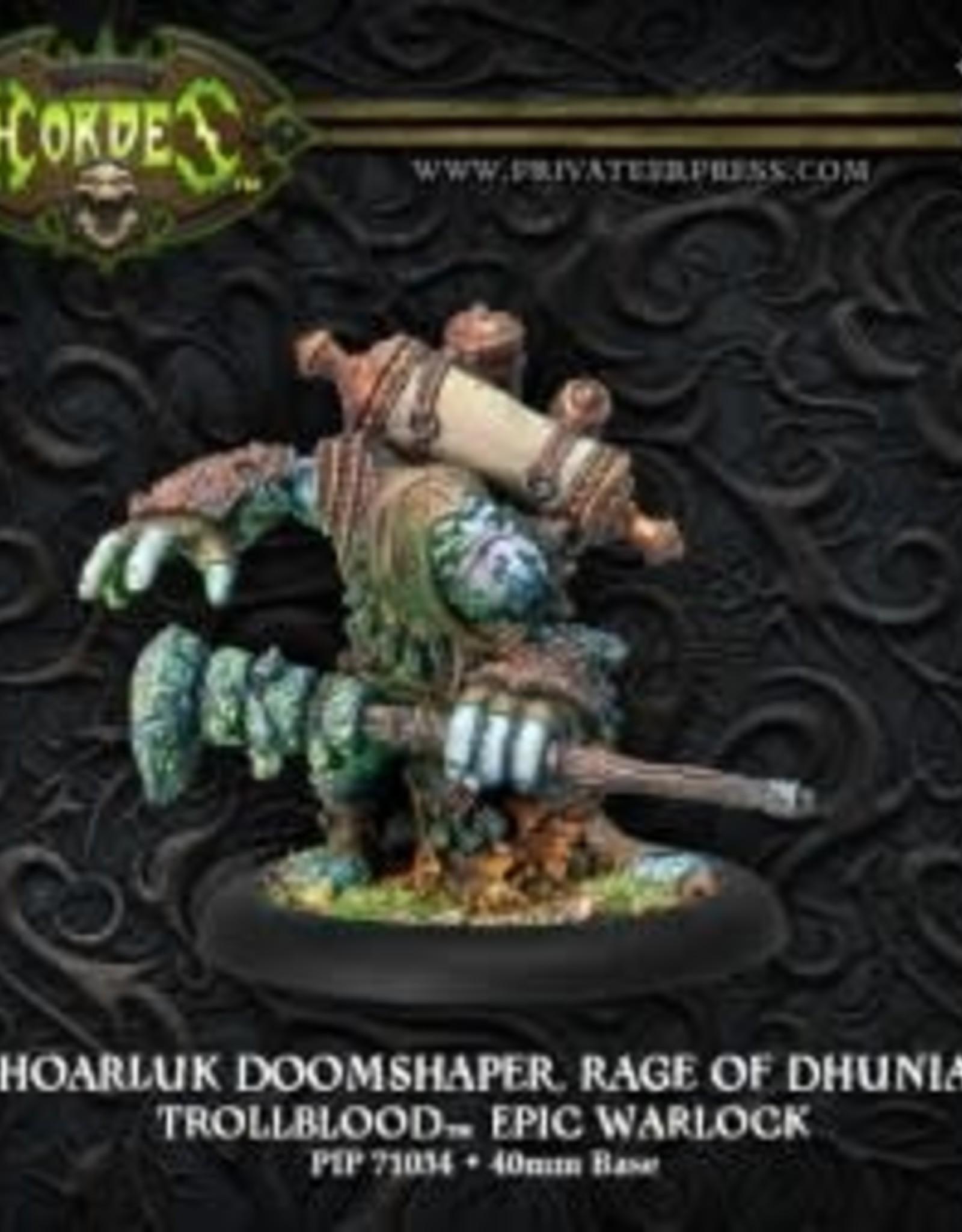 Hordes Trollbloods - Hoarluk Doomshaper Rage of Dhunia