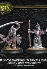 Hordes Everblight - Blighted Nyss Swordsmen Abbot & Champion