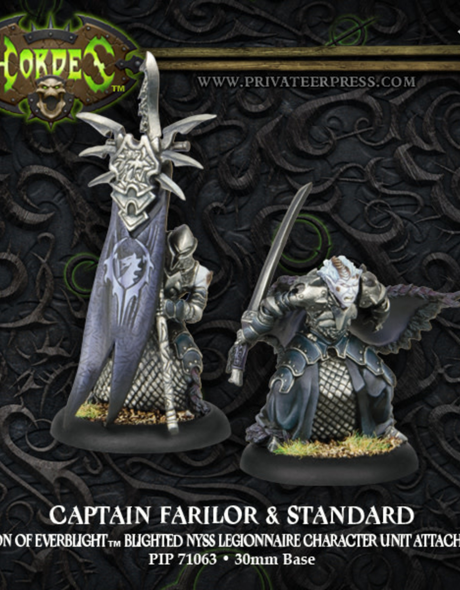 Hordes Everblight - Captain Farilor & Standard