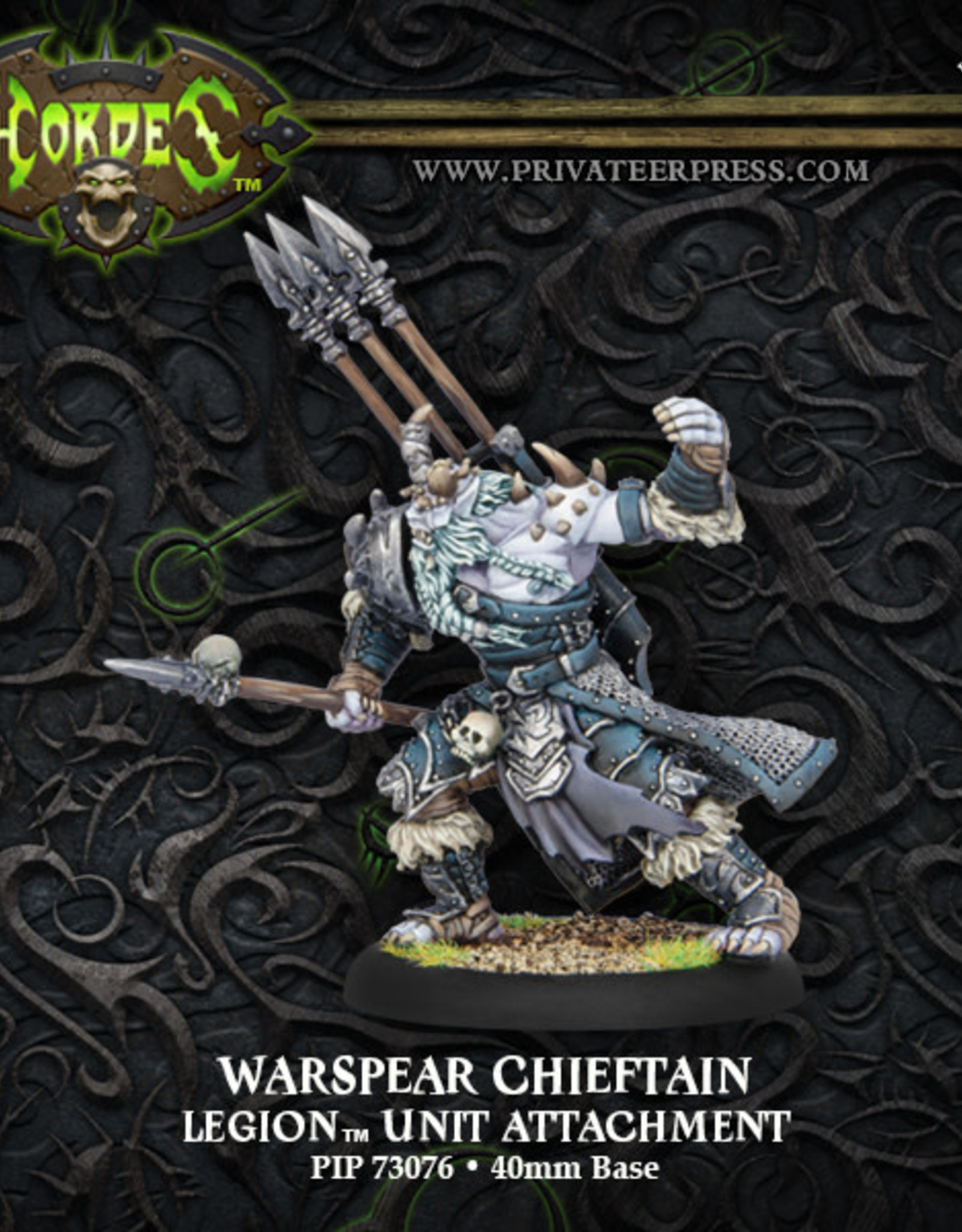 Hordes Everblight - Warspear Chieftain