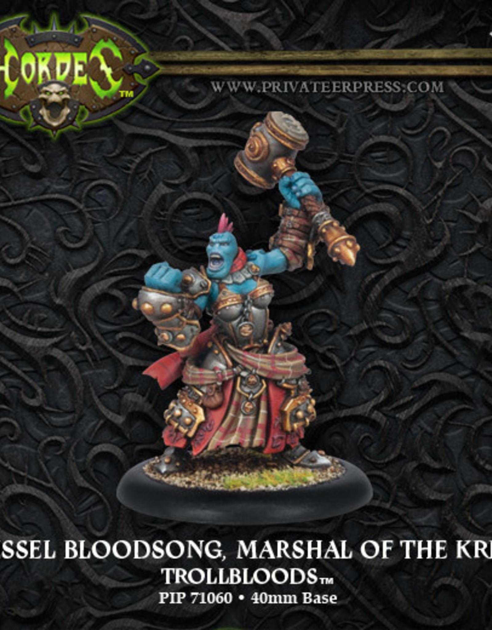 Hordes Trollbloods - Grissel Bloodsong Marshal of the Kriels