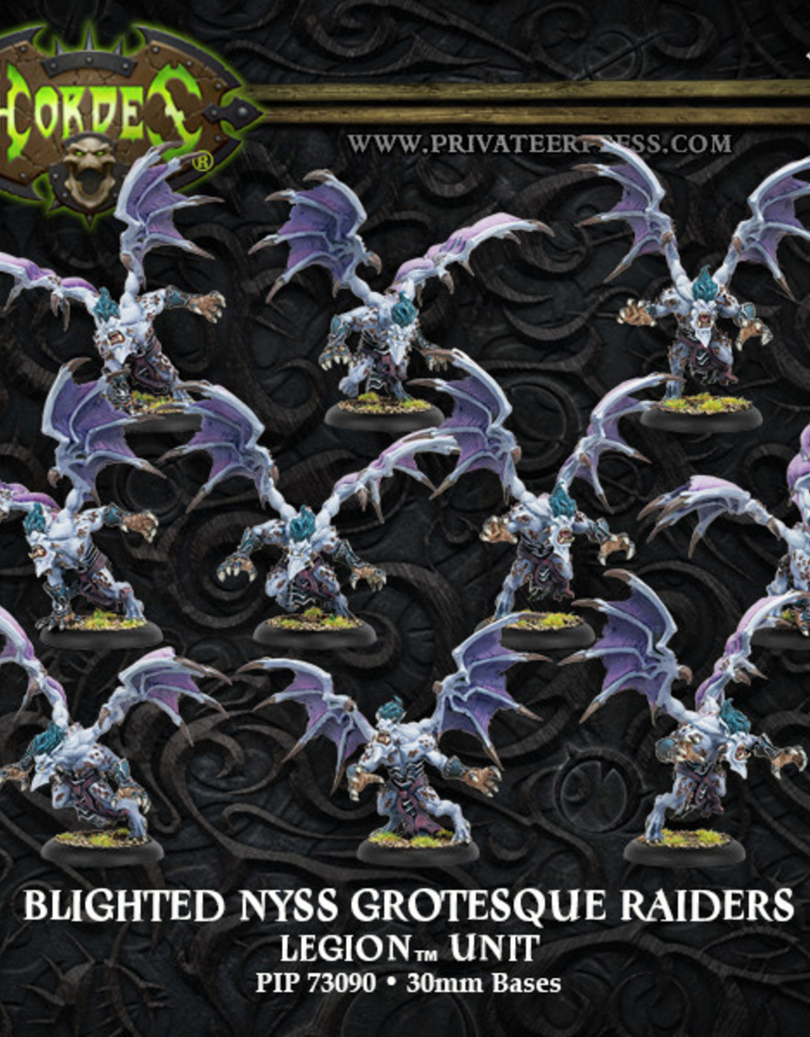 Hordes Everblight - Blighted Nyss Grotesque Banshees/Raiders
