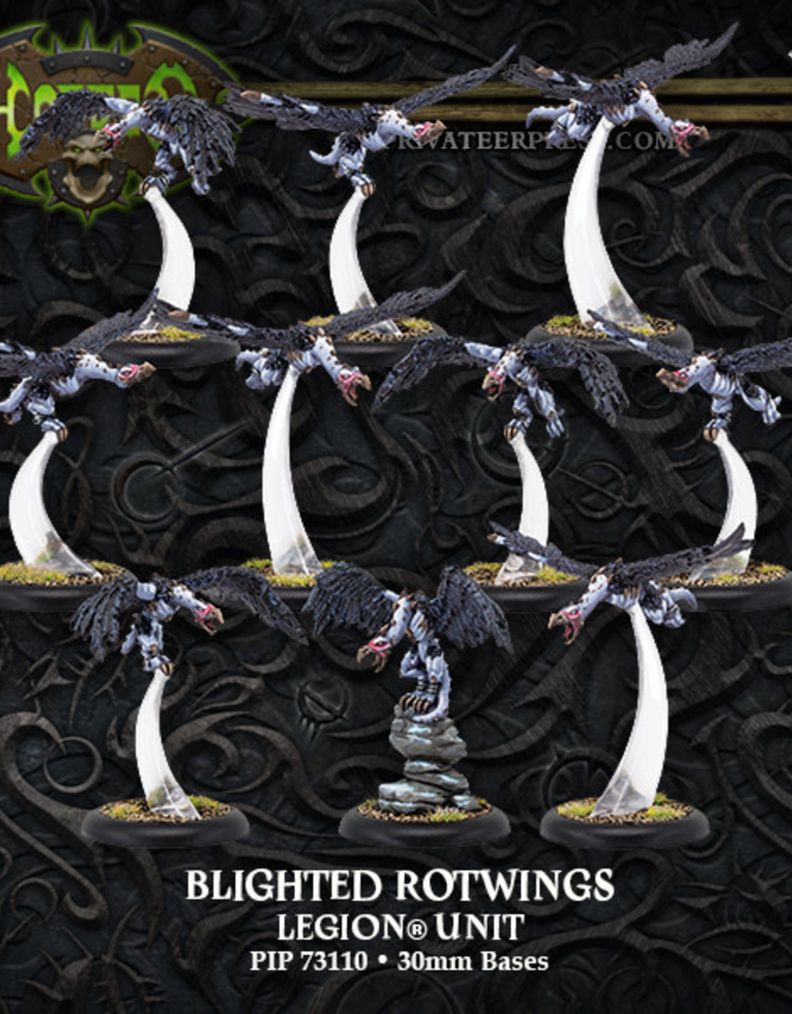 Hordes Everblight - Blighted Rotwings