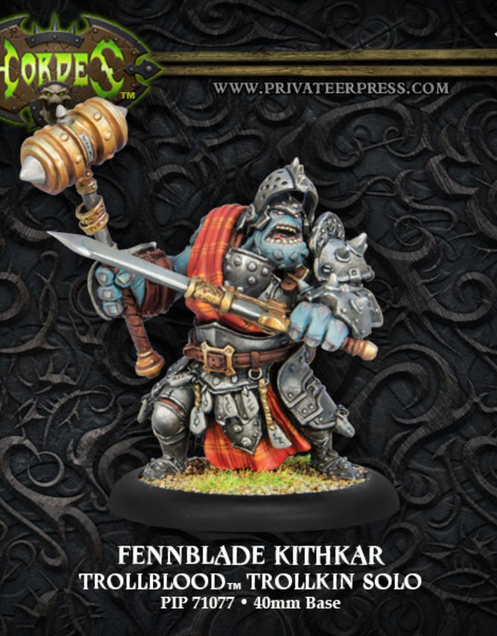Hordes Trollbloods - Fennblade Kithkar