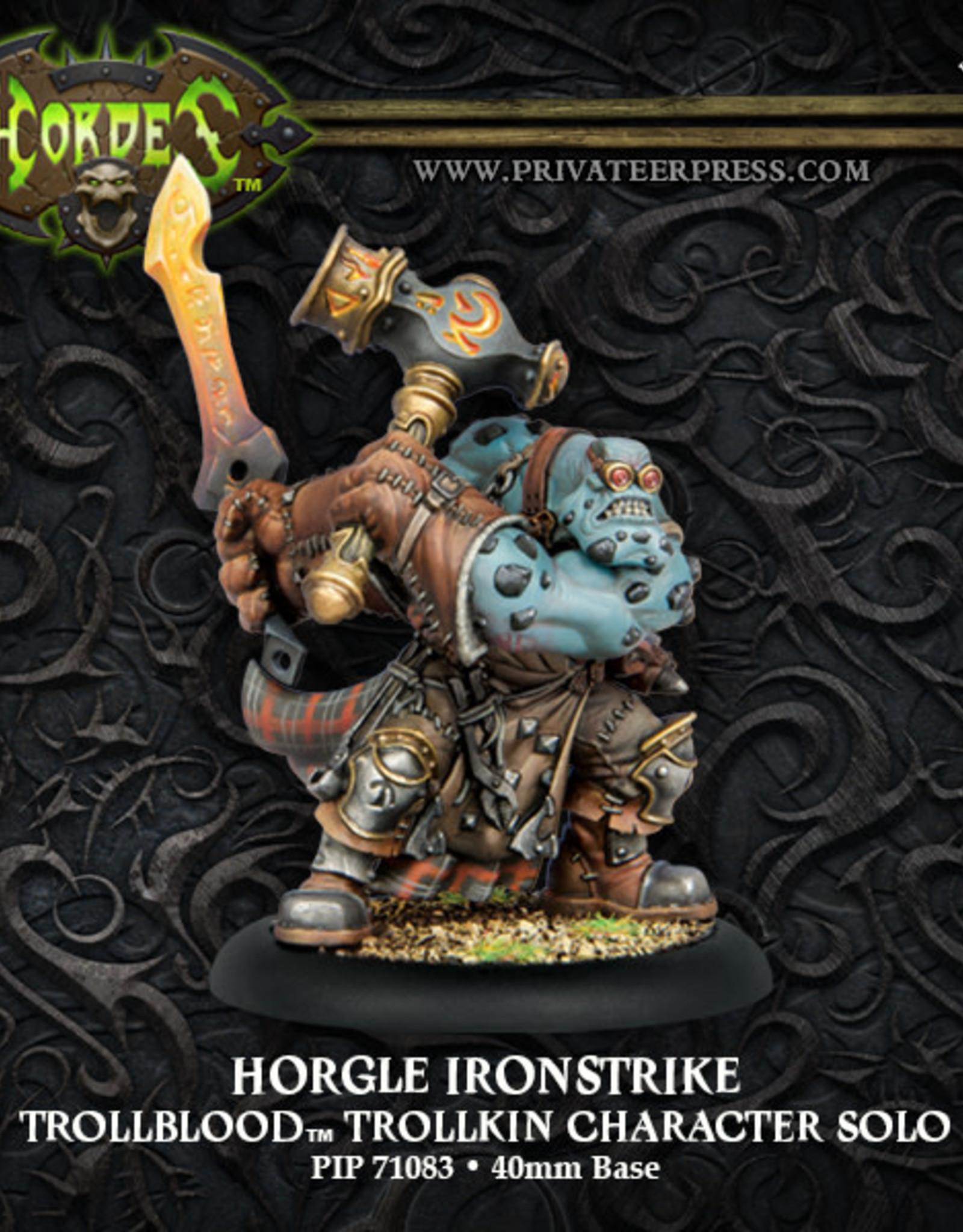 Hordes Trollbloods - Horgle Ironstrike