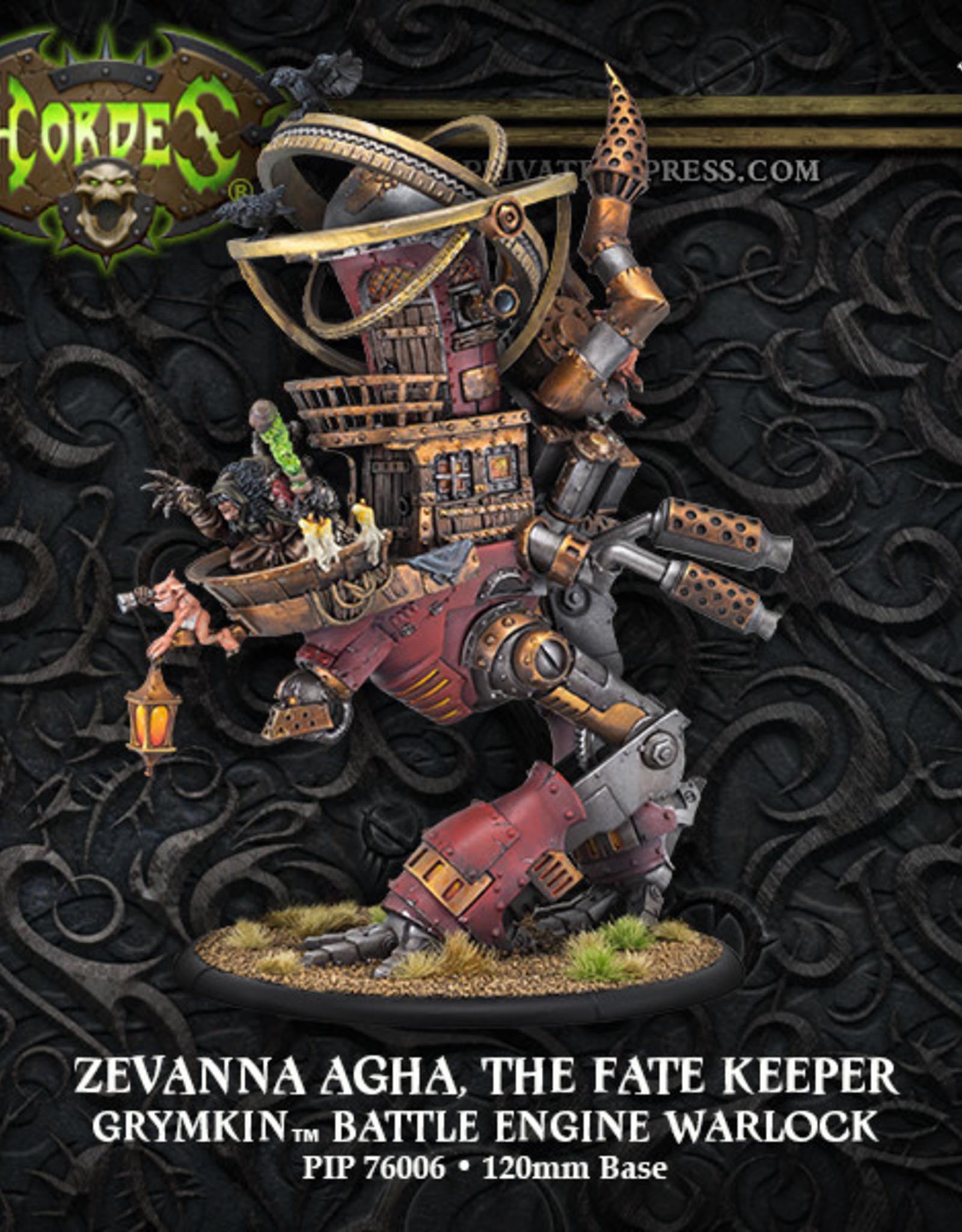 Hordes Grymkin - Zevanna Agha The Fate Keeper