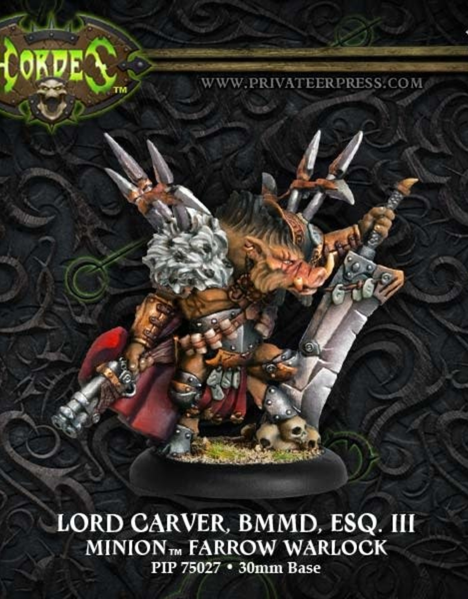 Hordes Minions - Lord Carver BMMD ESQ III