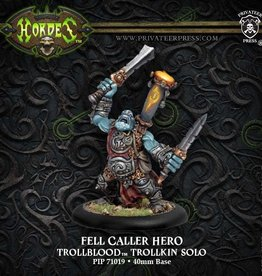 Hordes Trollbloods Fell Caller Hero