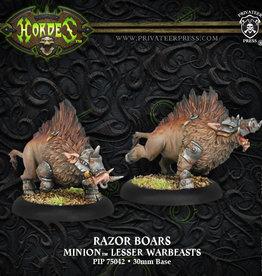 Hordes Minions - Razor Boars