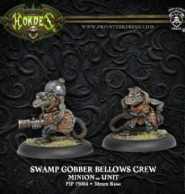 Hordes Minions - Swamp Gobber Bellows Crew