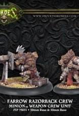 Hordes Minions - Razorback Crew