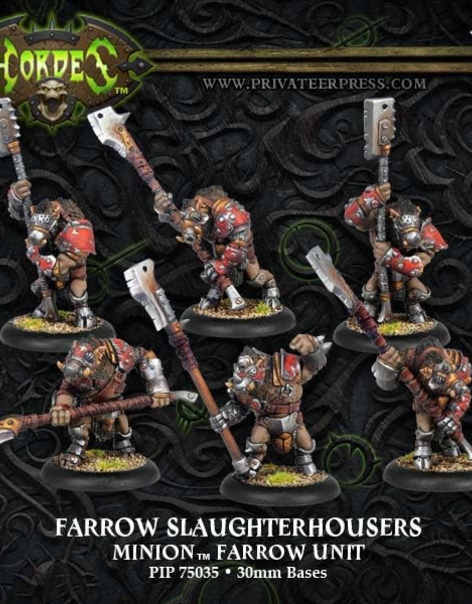 Hordes Minions - Farrow Slaughterhousers