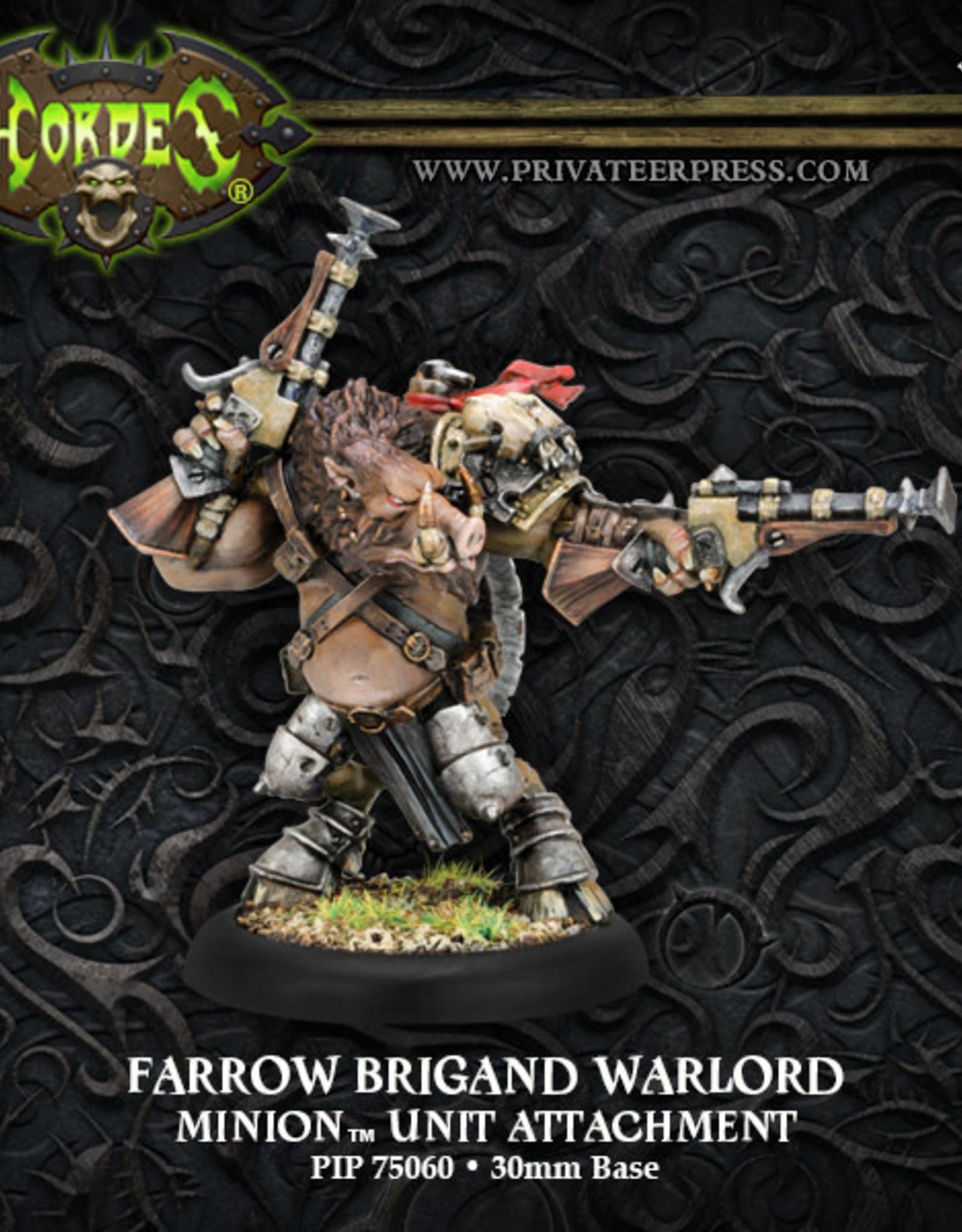 Hordes Minions - Farrow Brigand Warlord