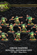 Hordes Minions - Croak Raiders