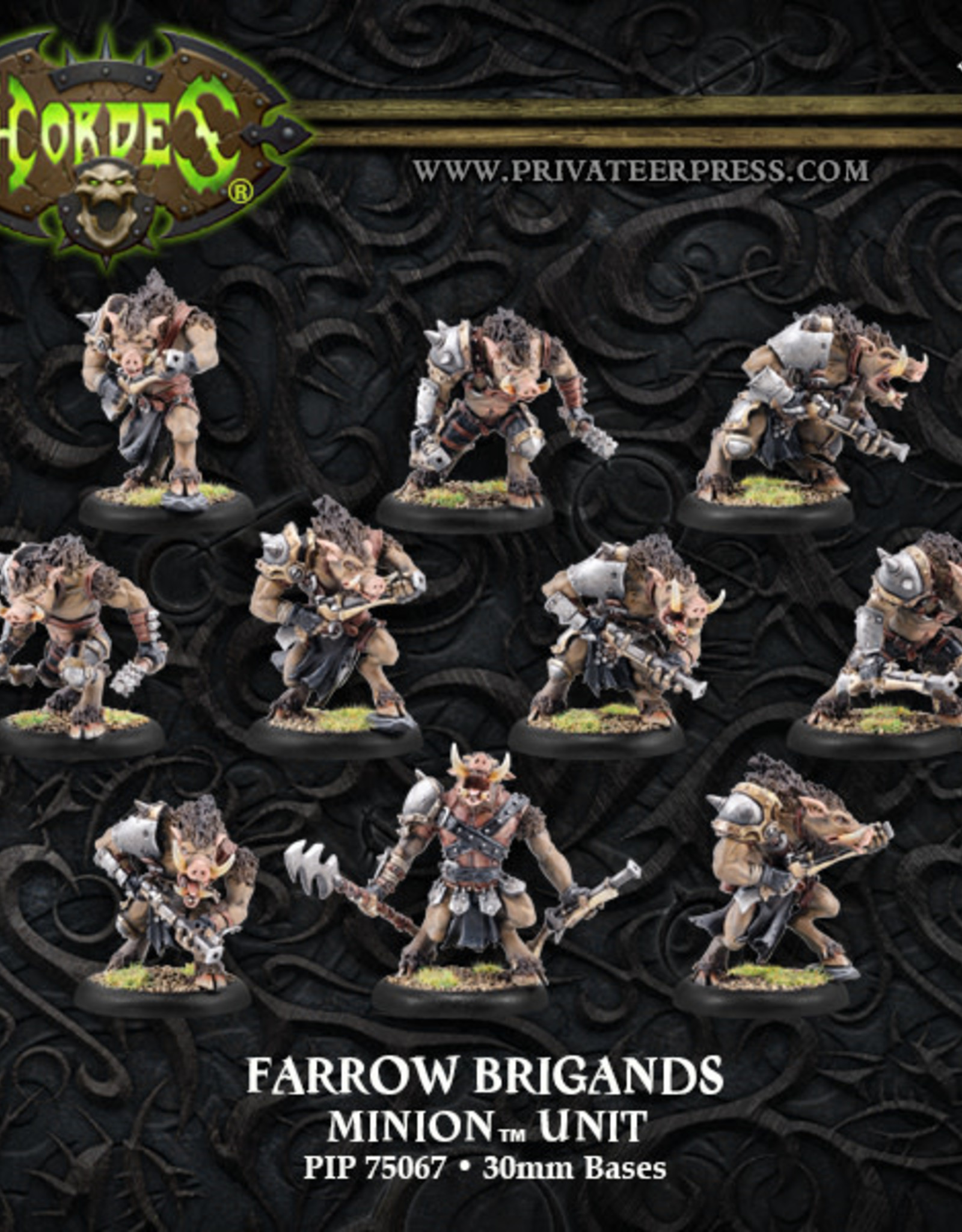 Hordes Minions - Farrow Brigands/Commandos