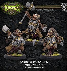Hordes Minions - Farrow Valkyries