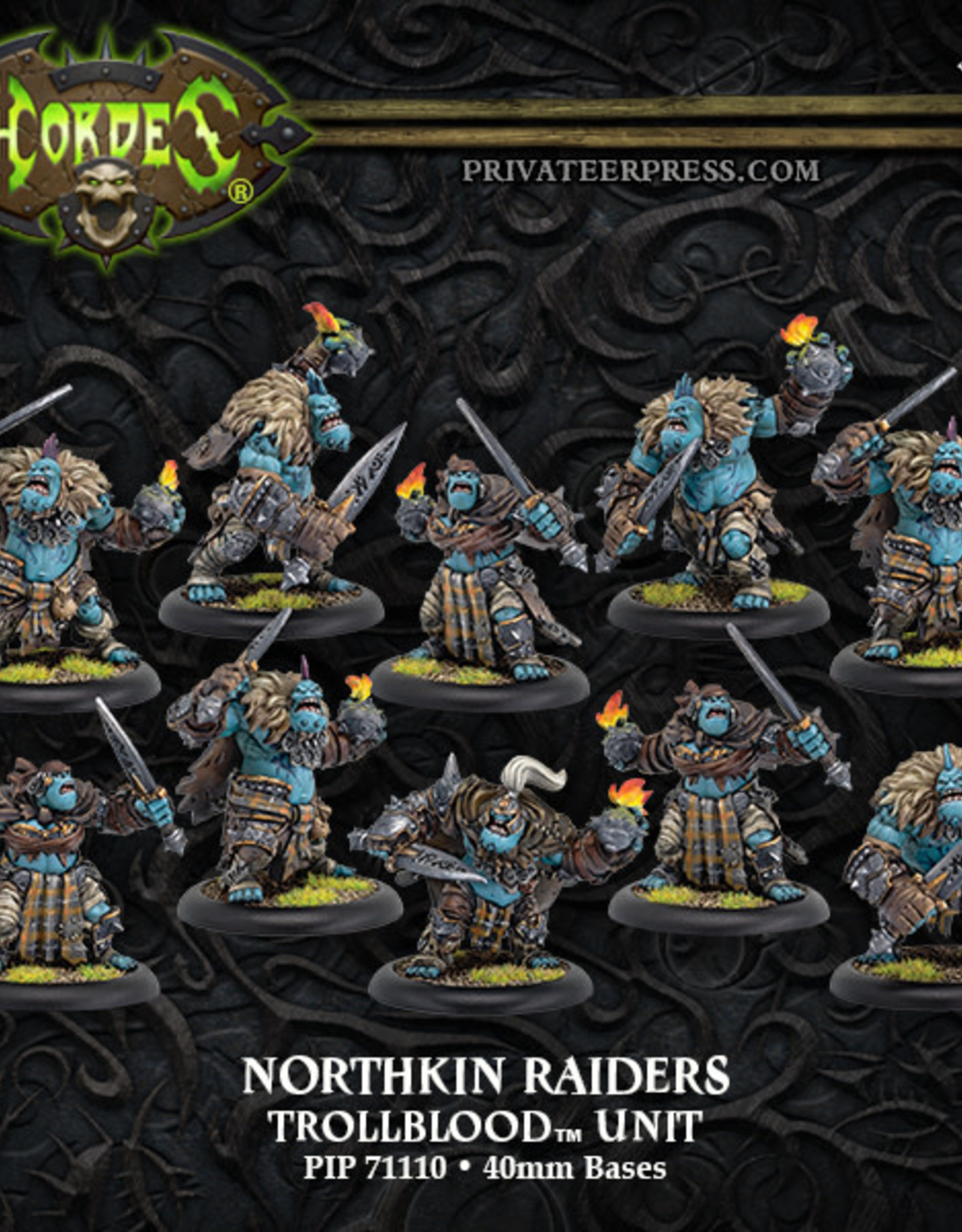 Hero Clix Trollbloods - Northkin Raiders