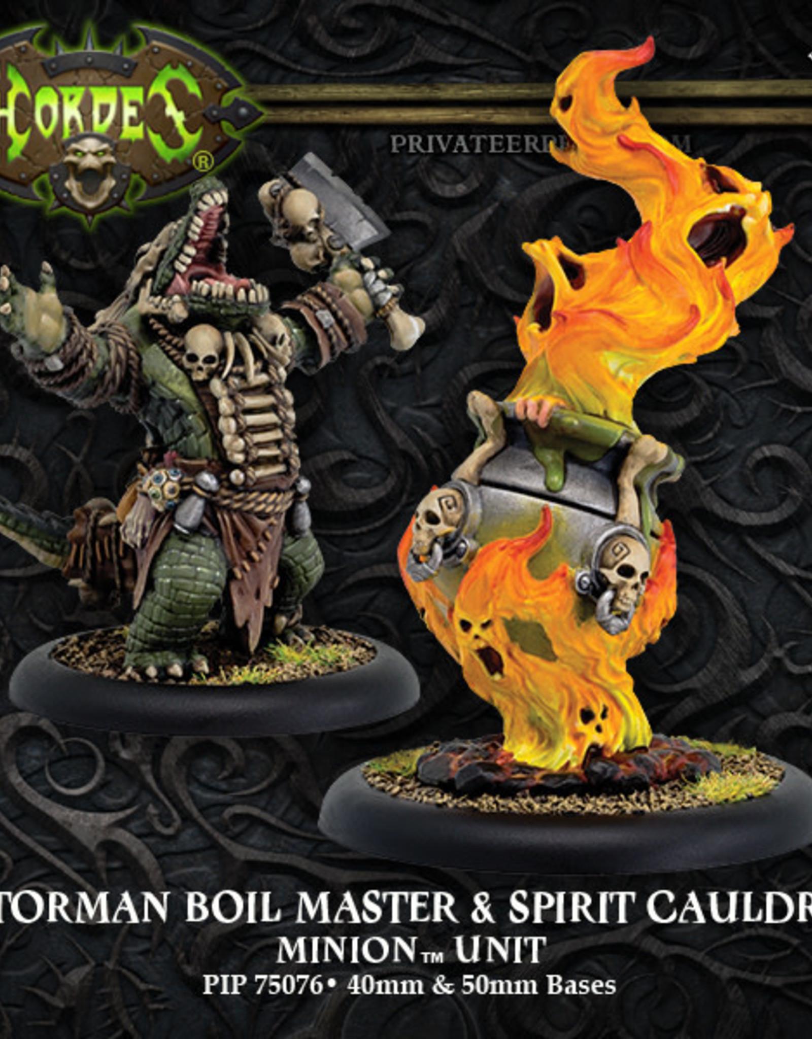 Hordes Minions - Gatorman Boil Master & Spirit Cauldron