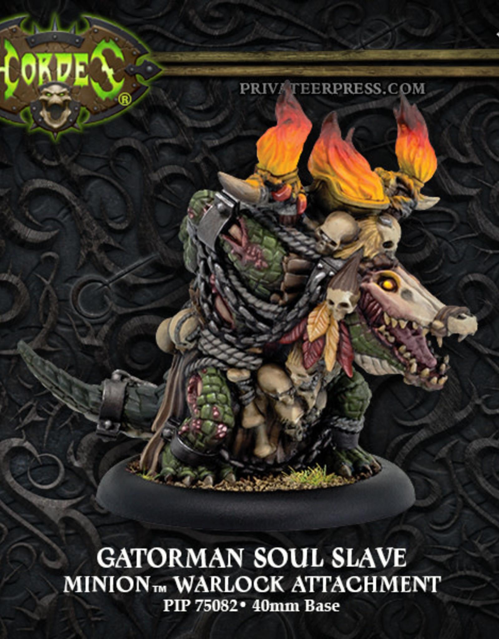 Hordes Minions - Gatorman Soul Slave