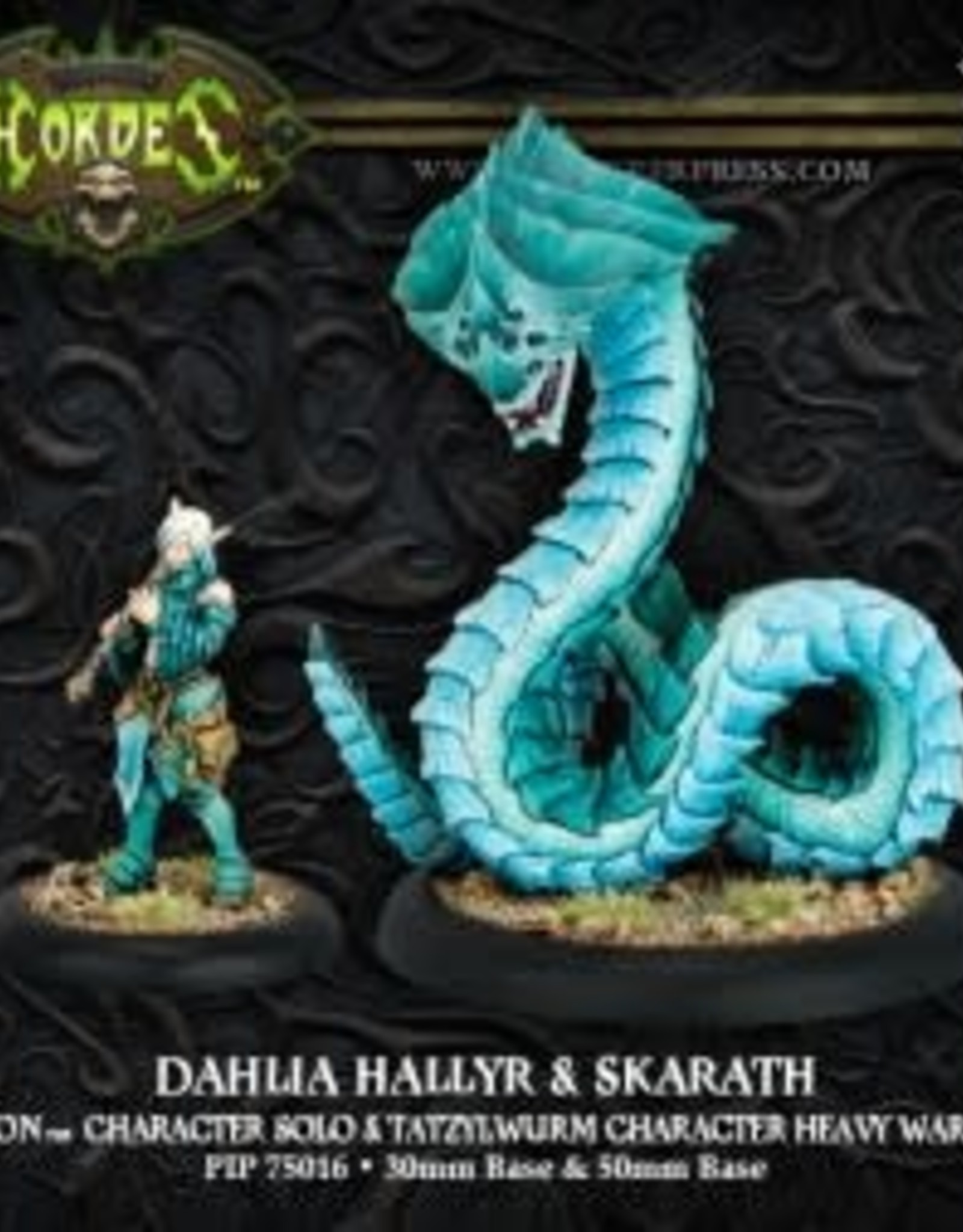 Hordes Minions - Dahlia Hallyr & Skarath
