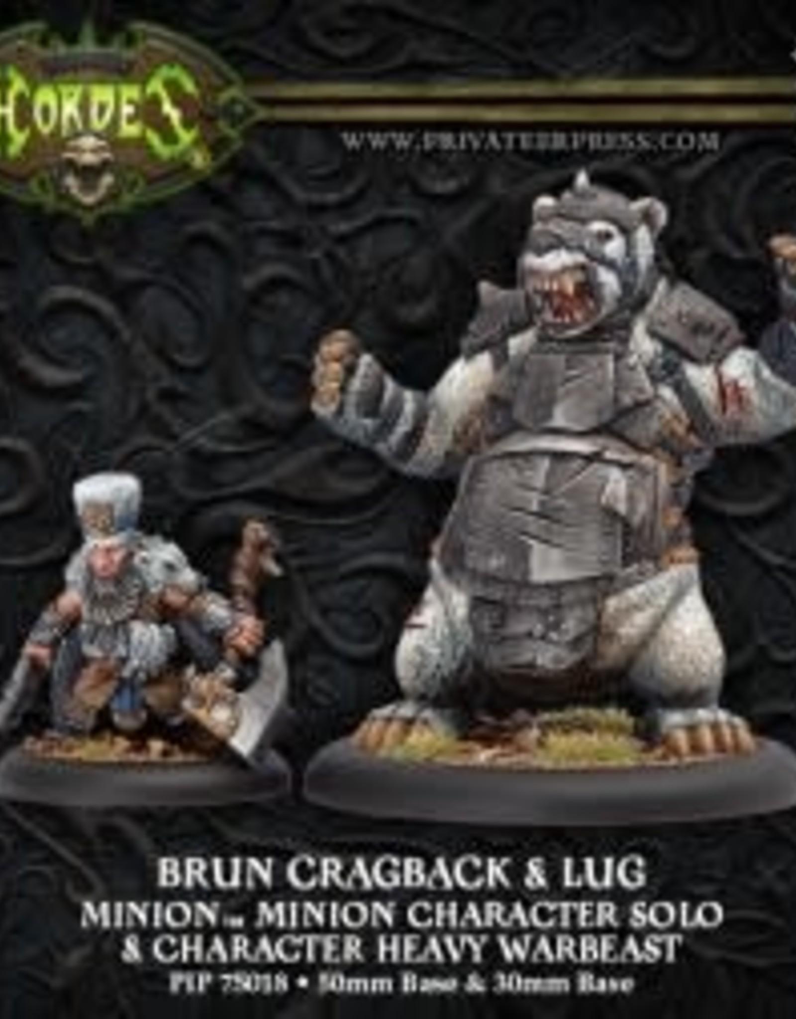 Hordes Minions - Brun Cragback & Lug