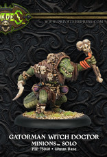 Hordes Minions - Gatorman Witch Doctor