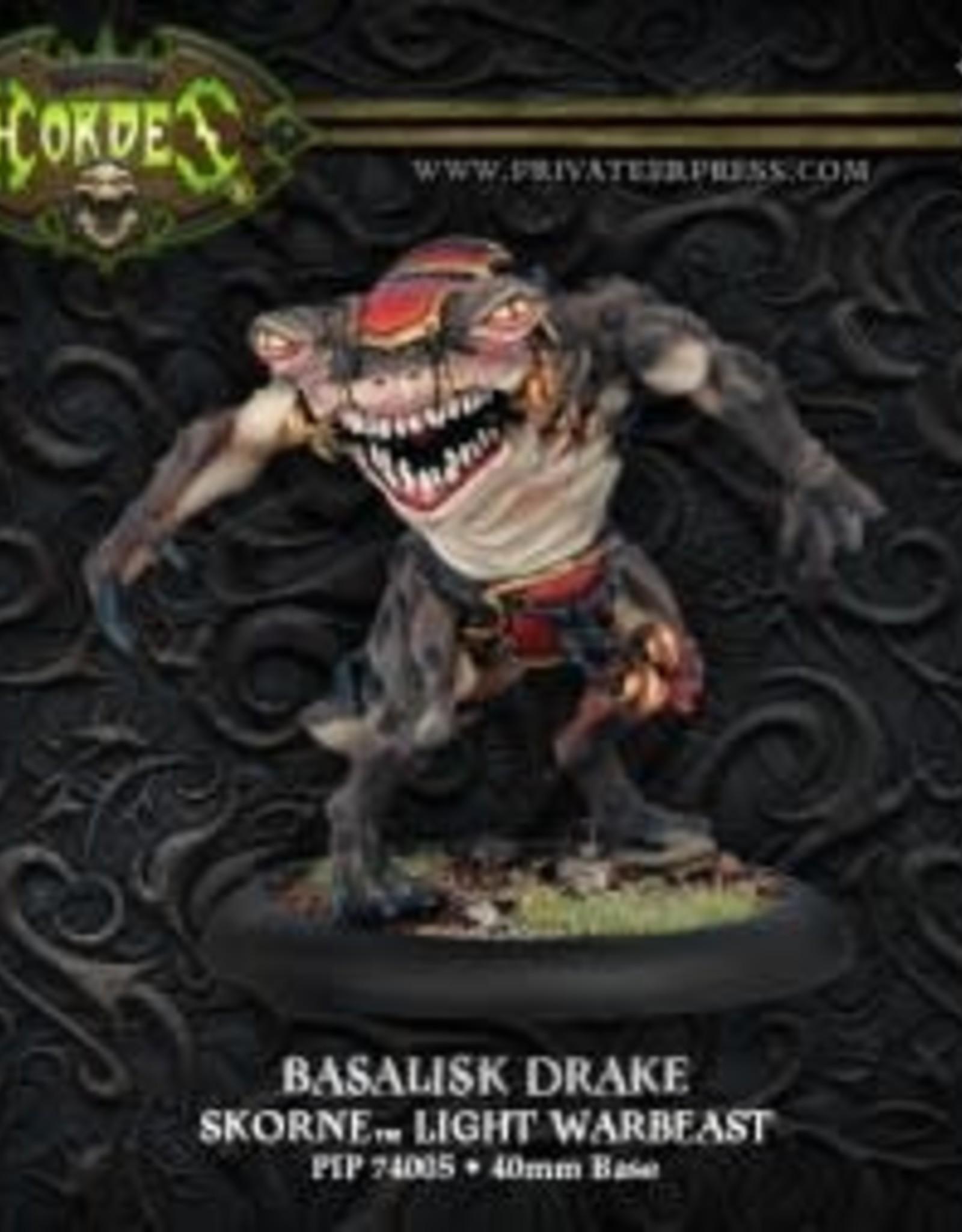 Hordes Skorne - Basalisk Drake