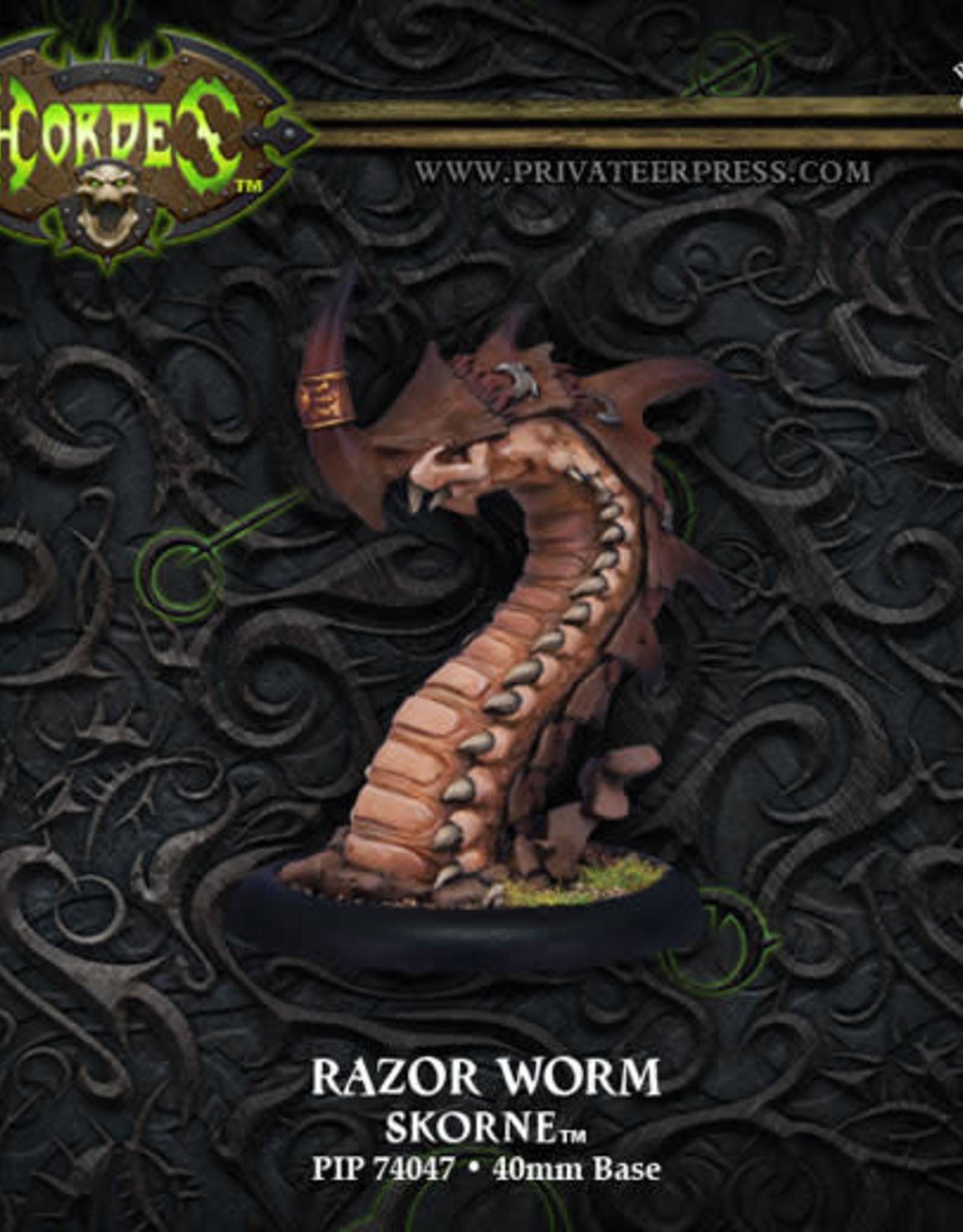 Hordes Skorne - Razor Worm