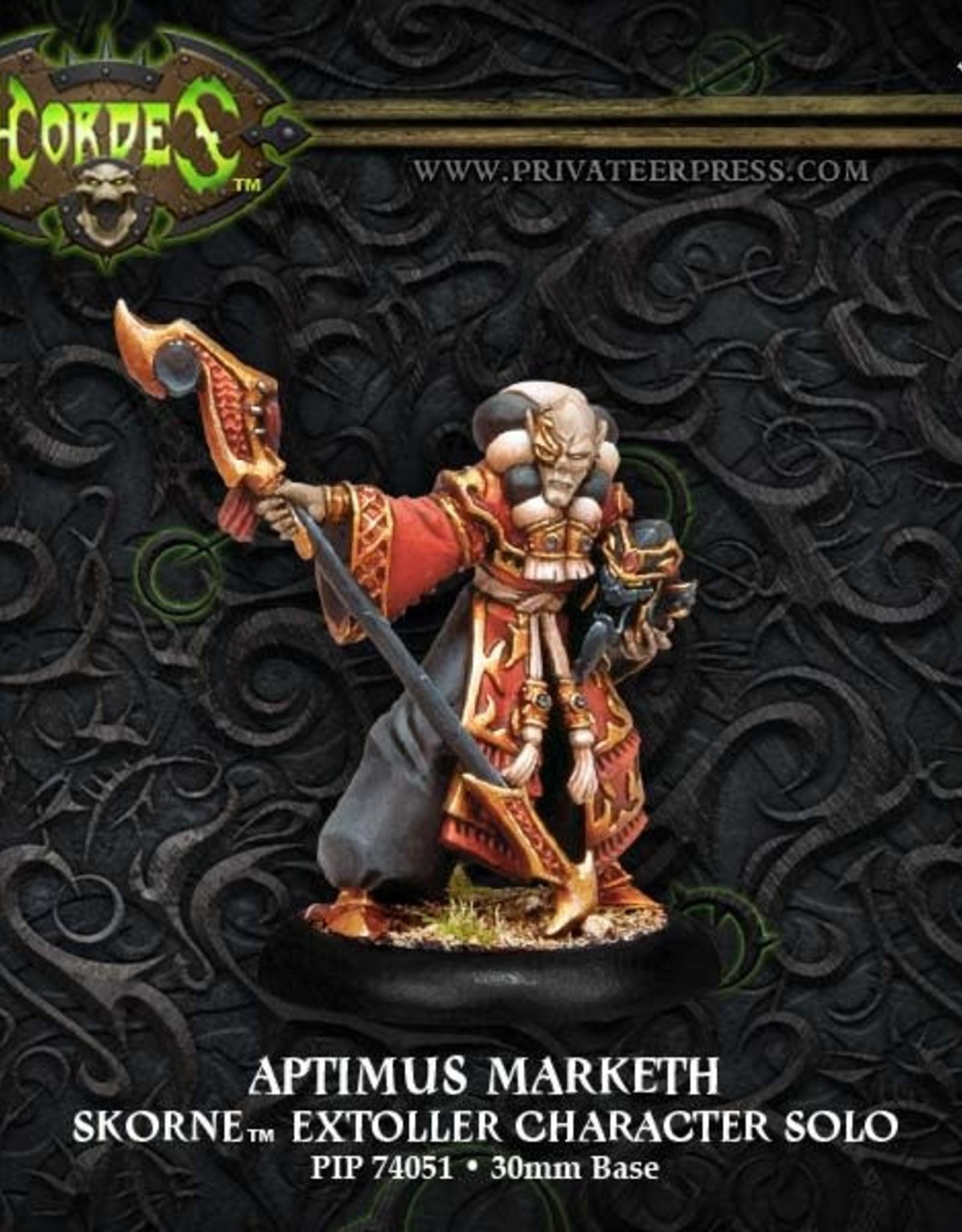 Hordes Skorne - Aptimus Marketh