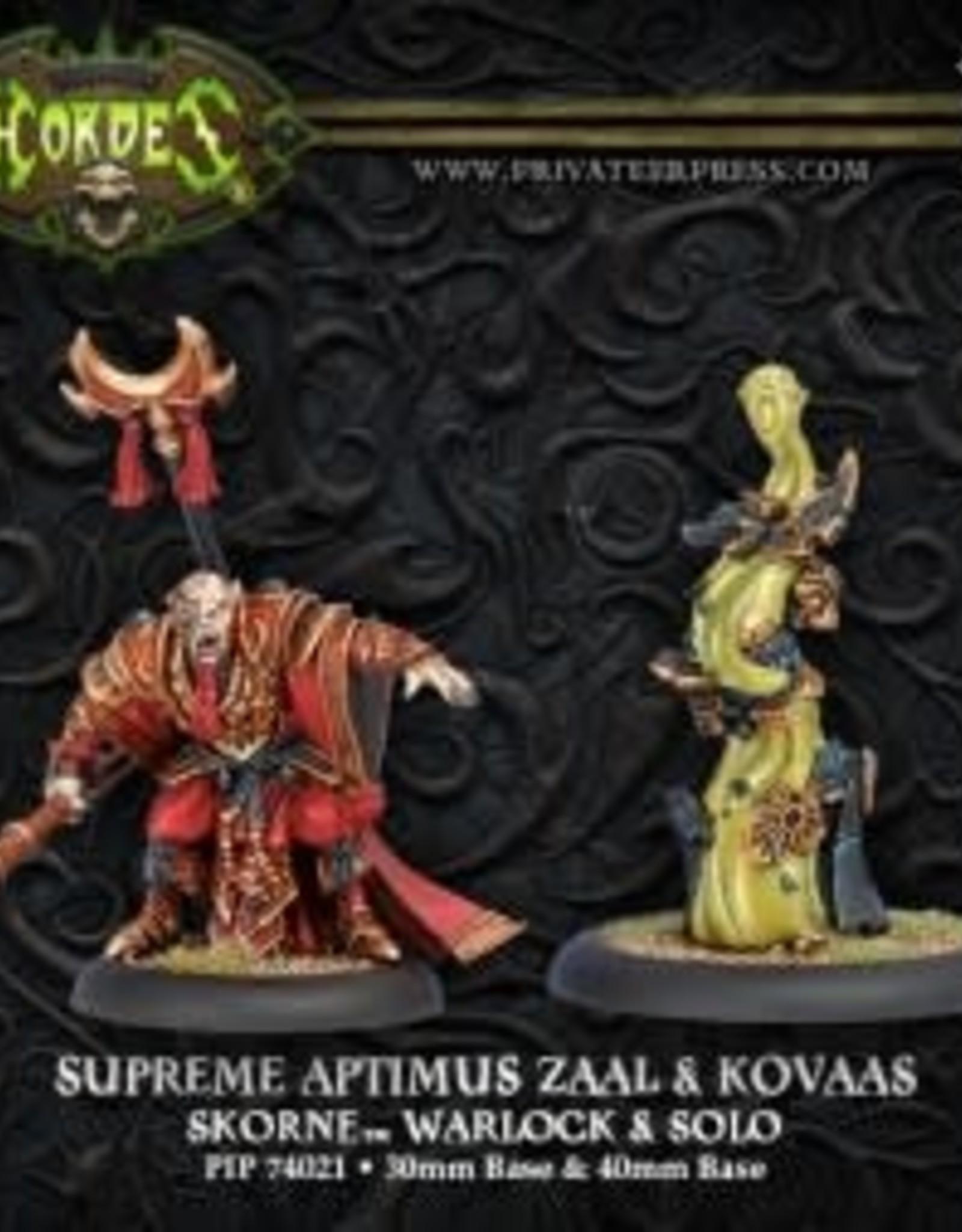 Hordes Skorne - Supreme Aptimus Zaal & Kovaas