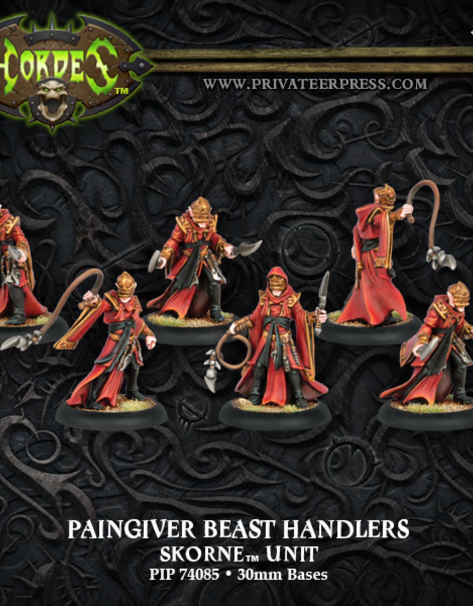 Hordes Skorne - Paingiver Beast Handlers