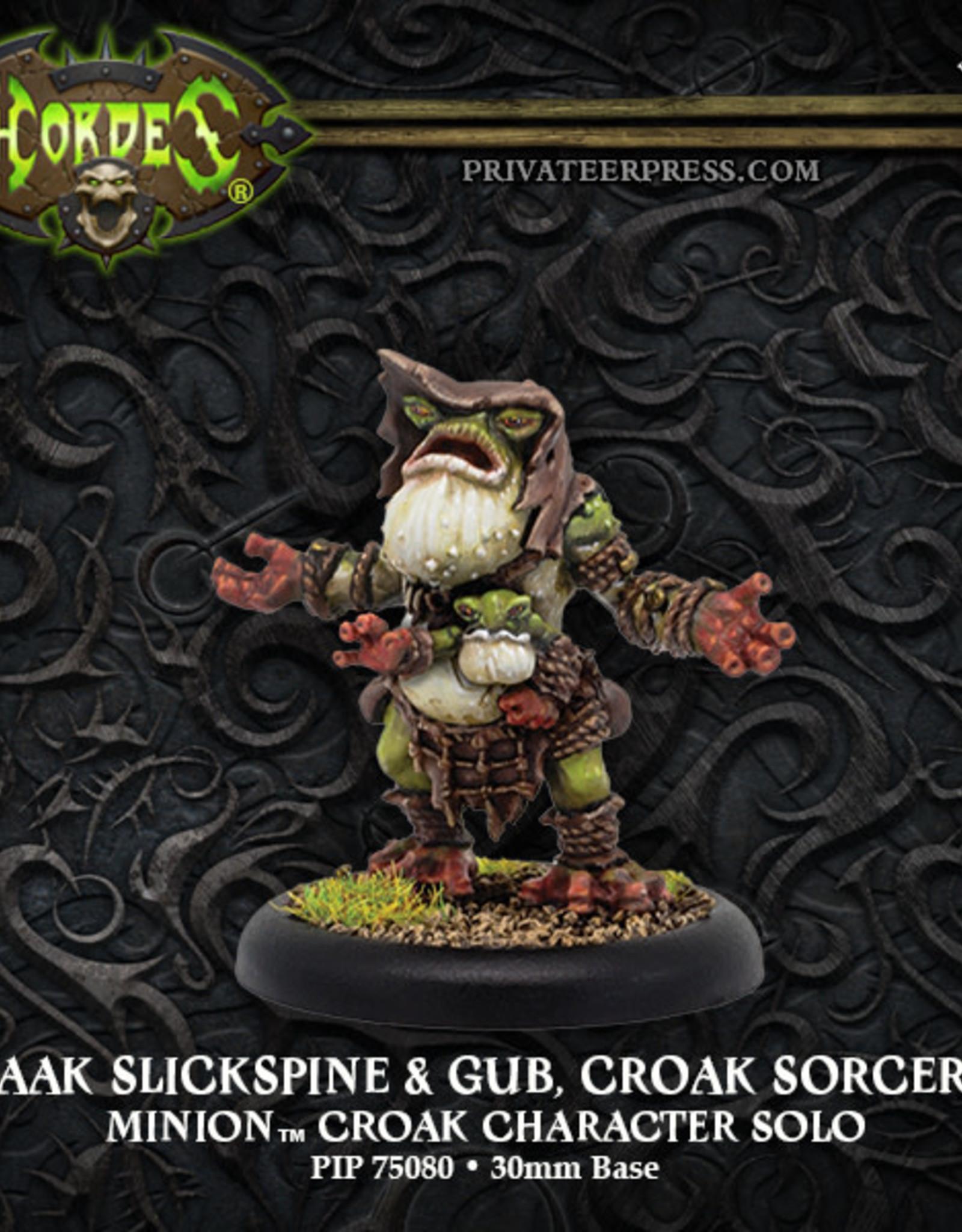 Hordes Minions - Kwaak Slickspine & Gub