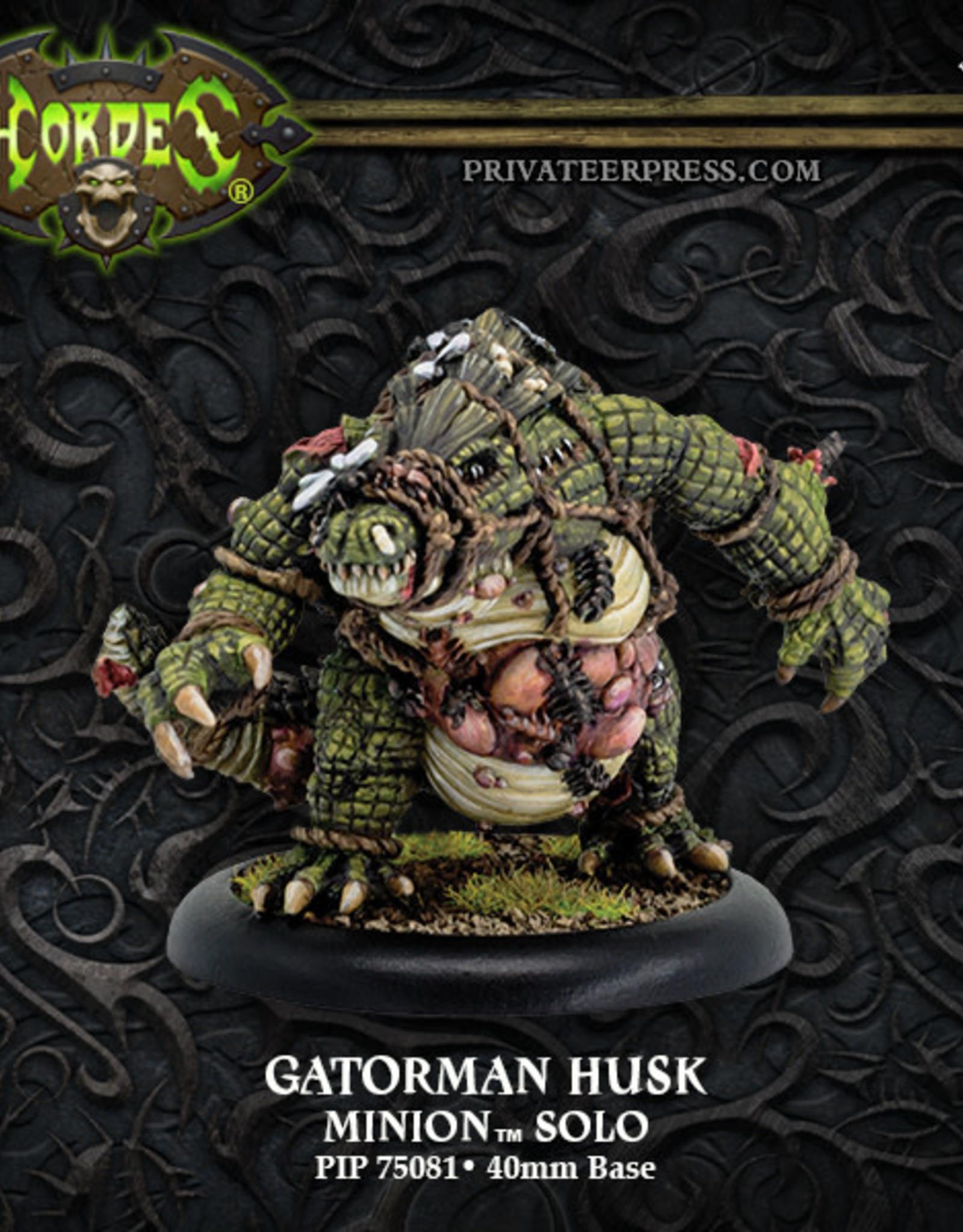 Hordes Minions - Gatorman Husk