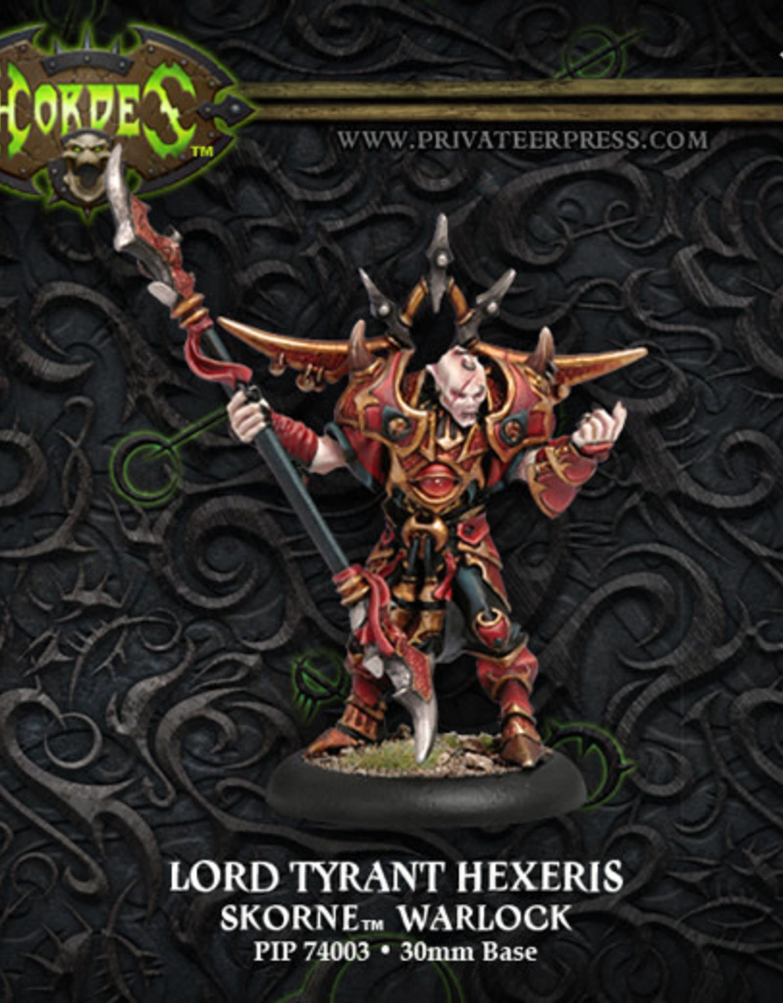 Hordes Skorne - Lord Tyrant Hexeris