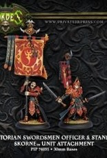 Hordes Skorne - Praetorian Swordsmen Officer & Standard