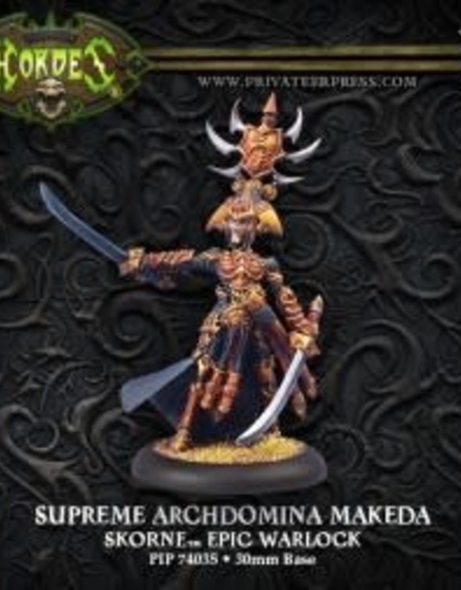 Hordes Skorne - Supreme Makeda