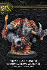Hordes Skorne - Titan Cannoneer/Gladiator/Sentry kit