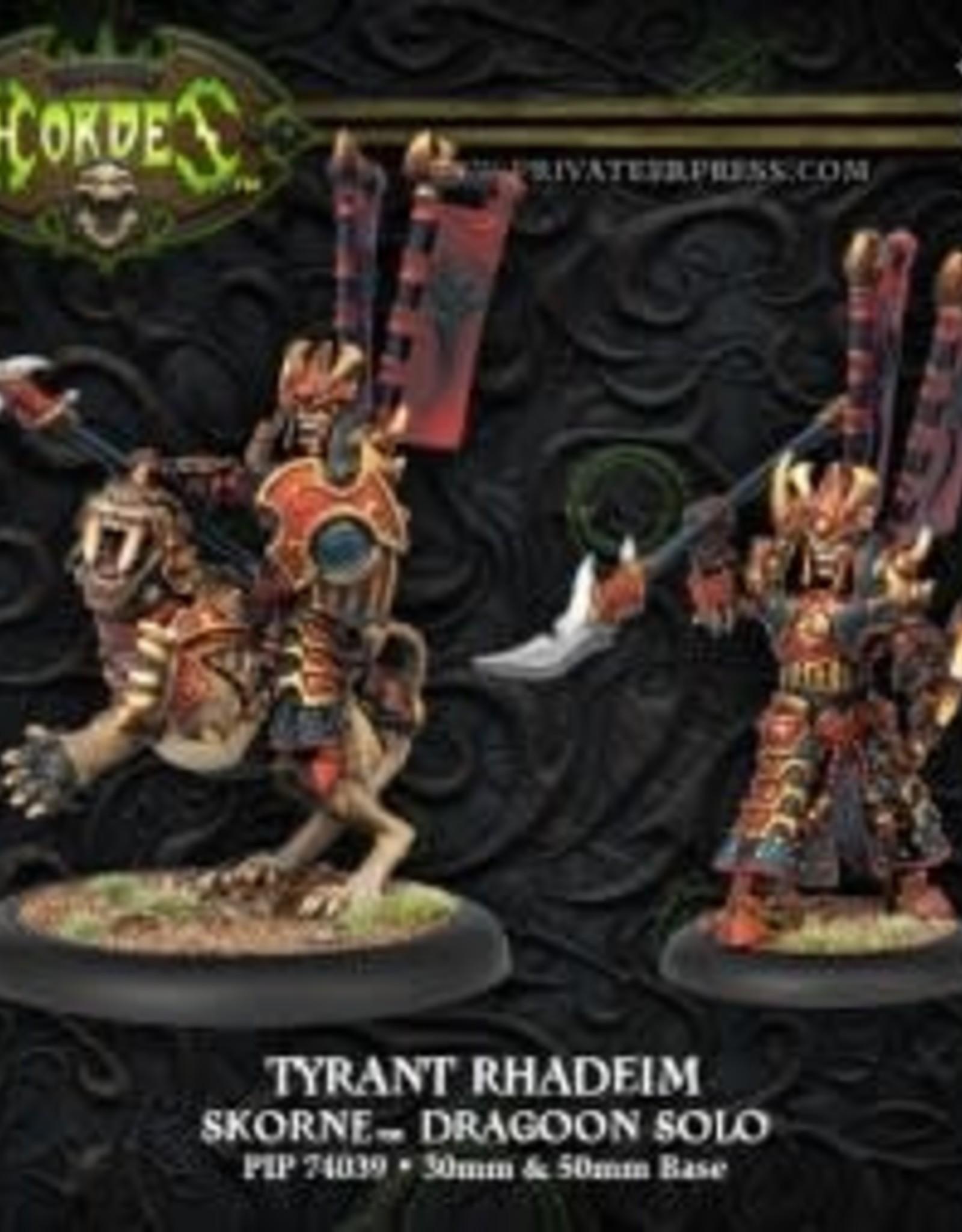 Hordes Skorne - Tyrant Rhadeim