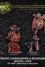 Hordes Skorne - Tyrant Commander & Standard