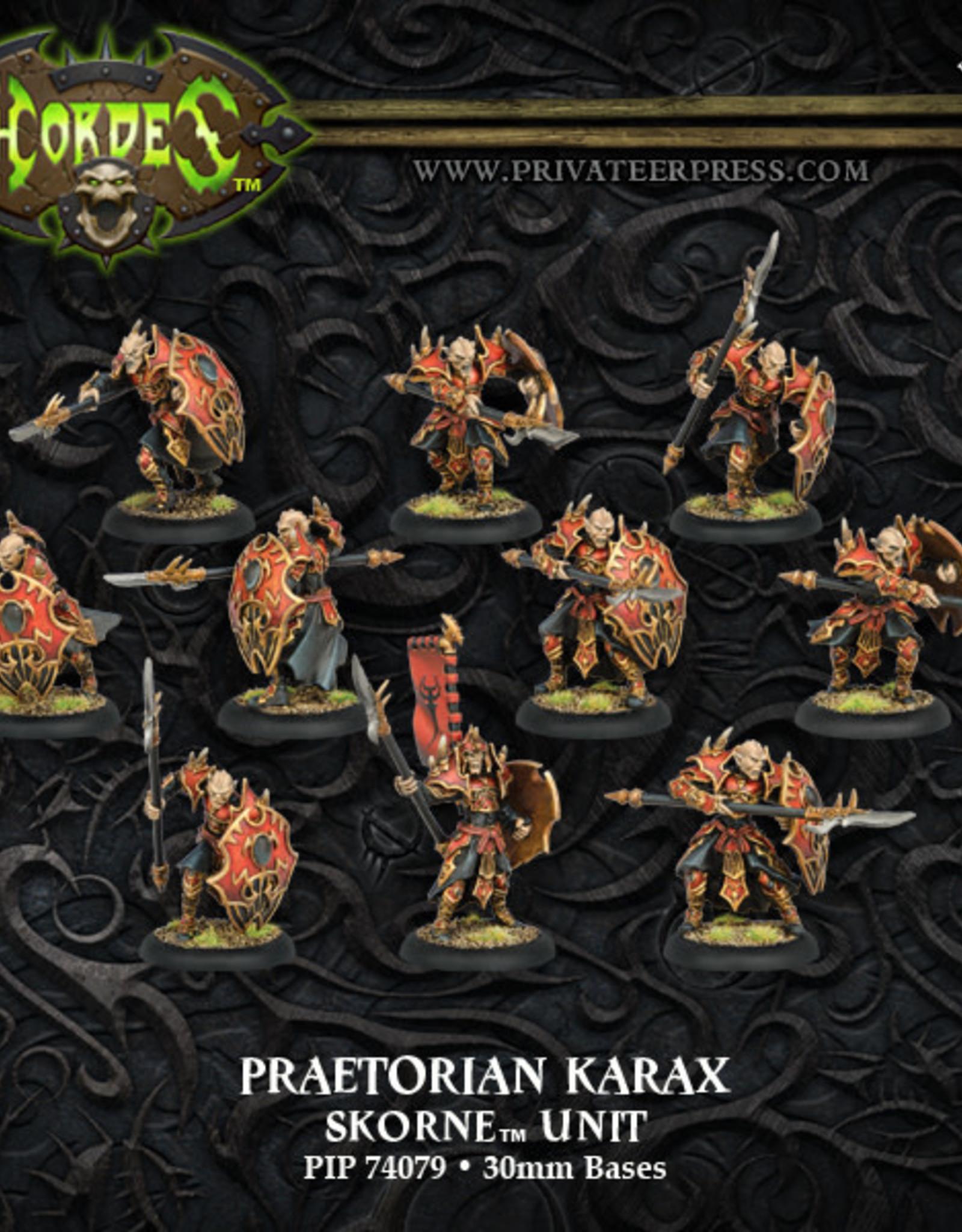 Hordes Skorne - Praetorian Karax