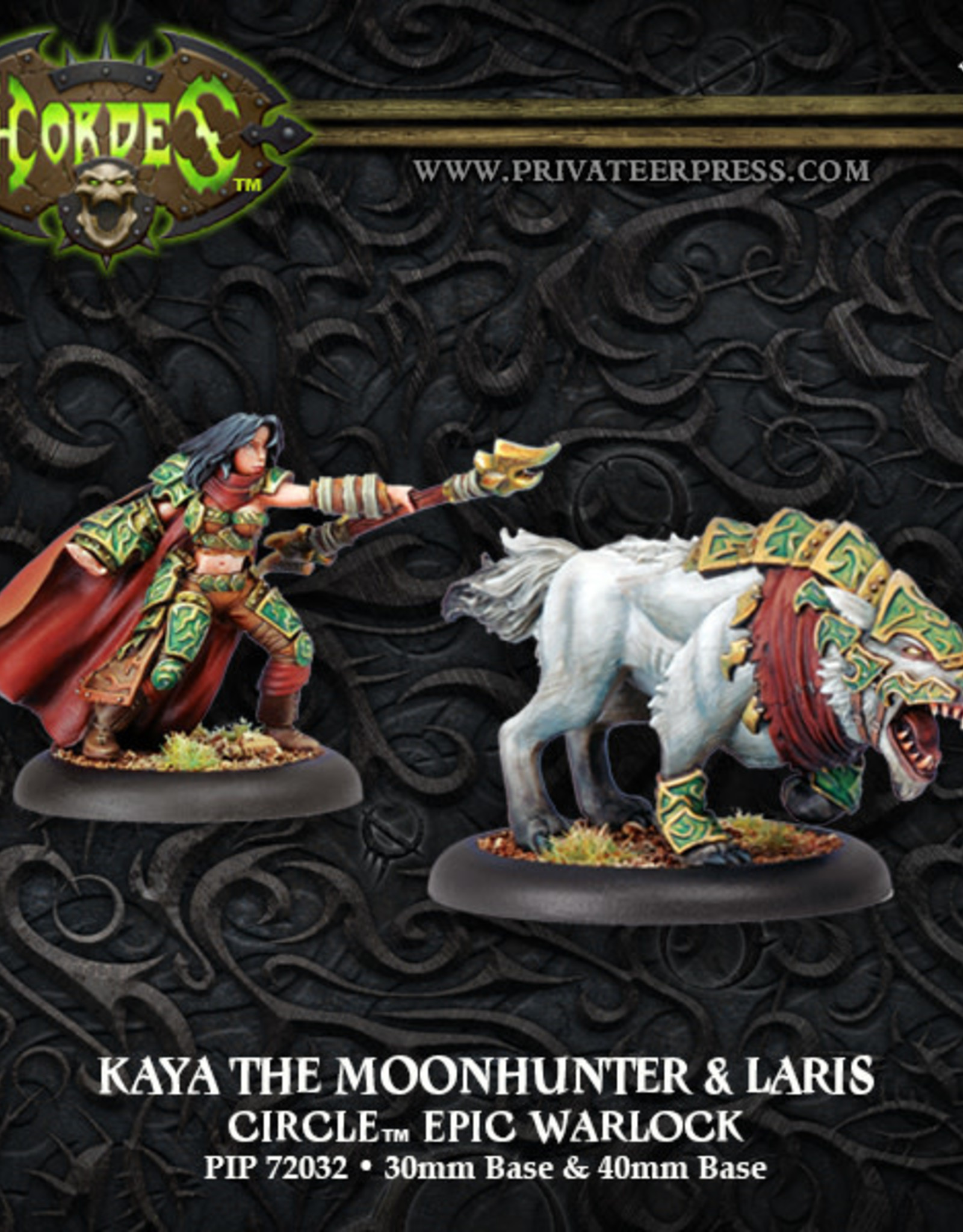 Hordes Circle - Kaya the Moonhunter & Laris