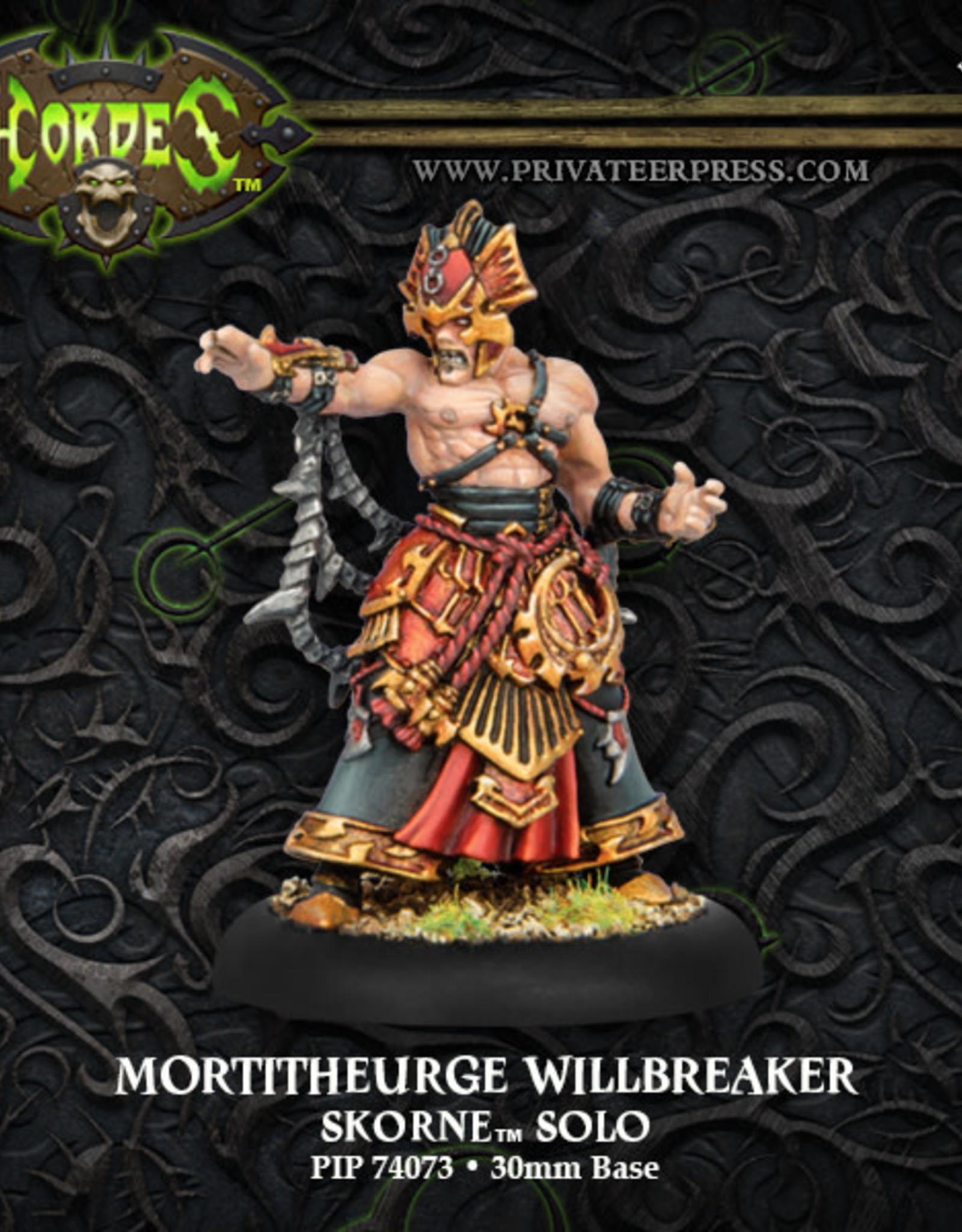 Hordes Skorne - Mortitheurge Willbreaker
