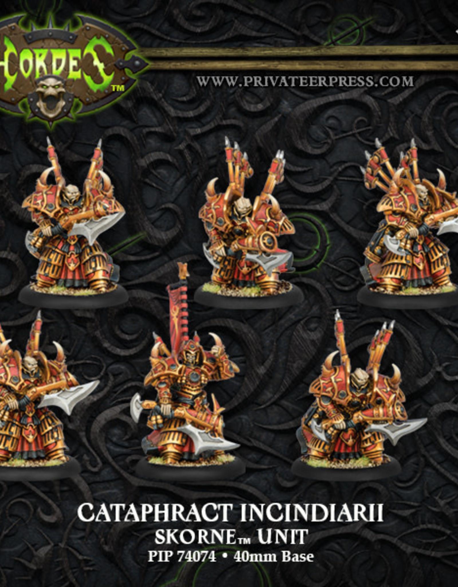 Hordes Skorne - Cataphract Incindiarii