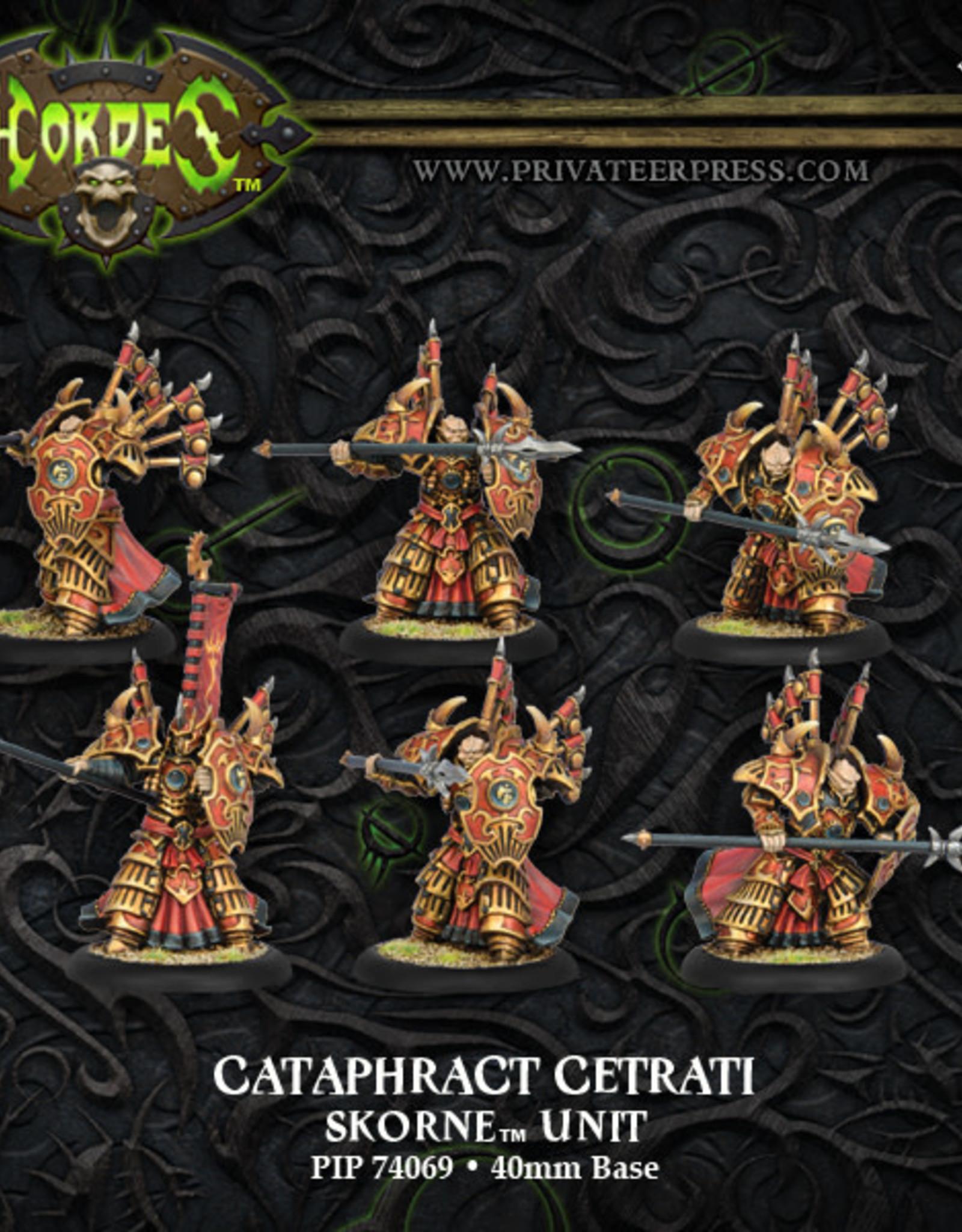 Hordes Skorne - Cataphract Cetrati (P)