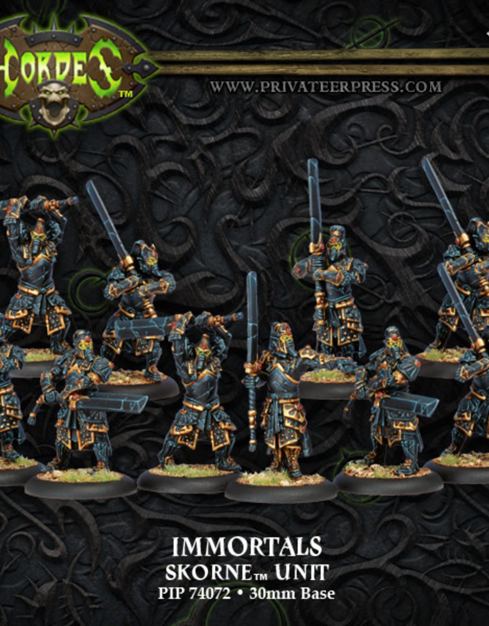 Hordes Skorne - Immortals