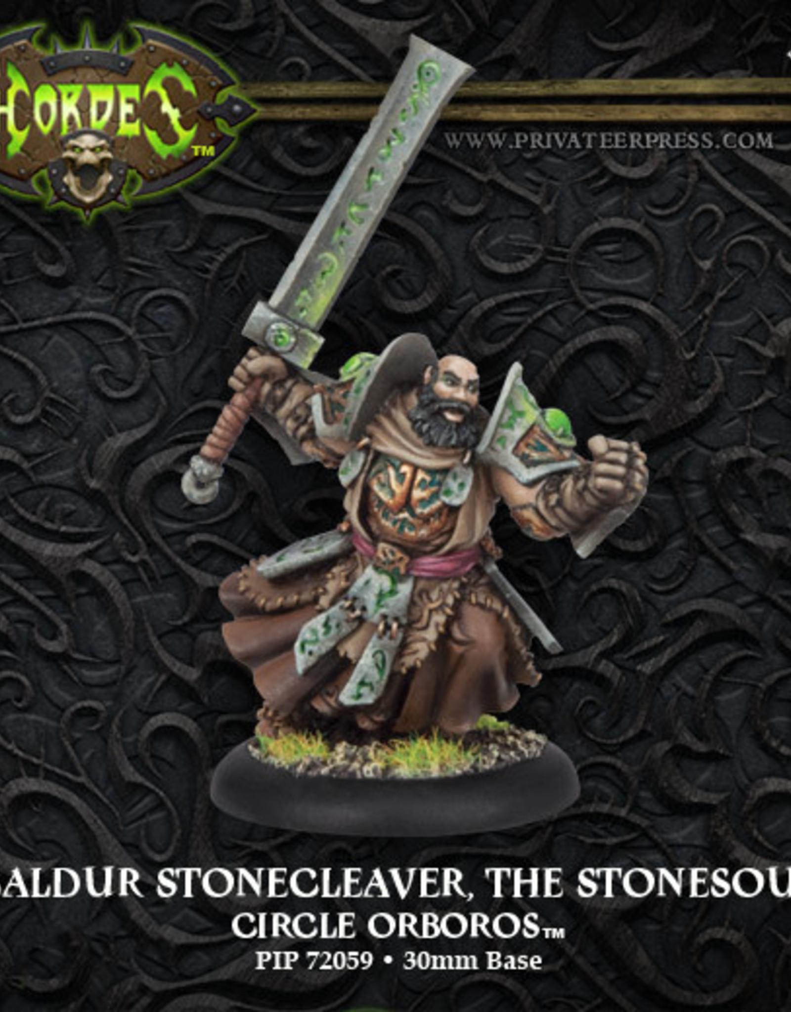 Hordes Circle - Baldur Stonecleaver the Stonesoul