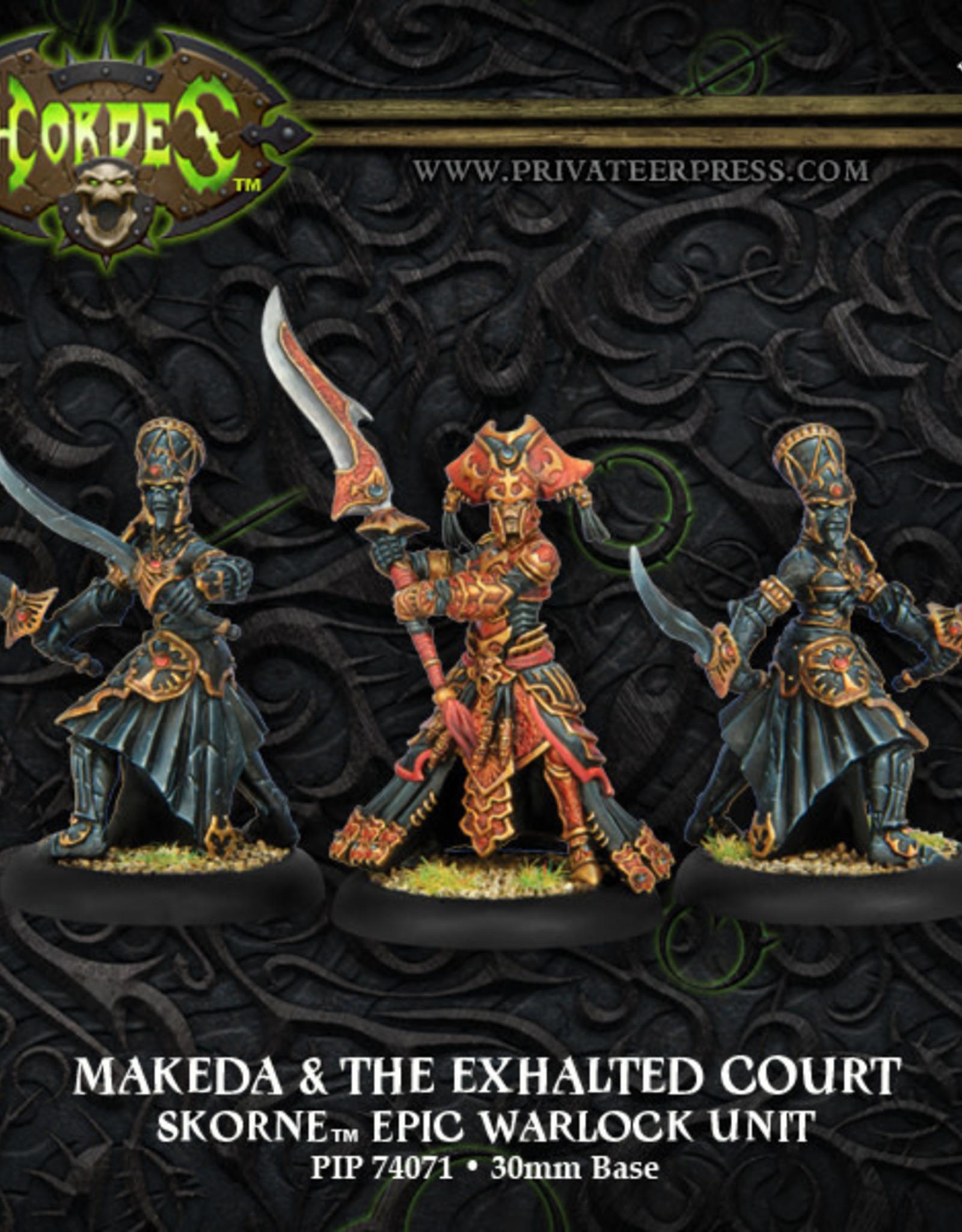 Hordes Skorne - Makeda & the Exalted Court